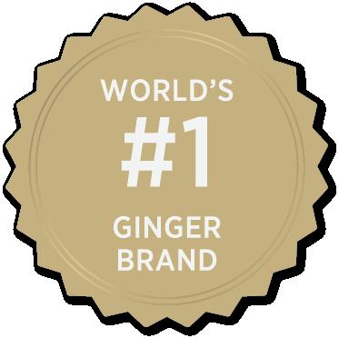 World's #1 Ginger Brand